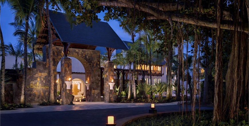 Shangri-La's Touessrok Resort & Spa, Mauritius-Ulaz u Hotel
