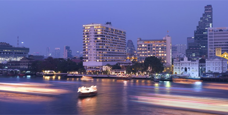 Mandarin Oriental, Bangkok-Vanjski dio Hotela