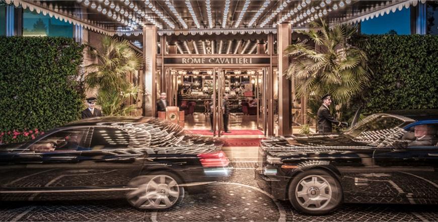 Rome Cavalieri, Waldorf Astoria Hotels & Resorts-Luksuzni prijevoz