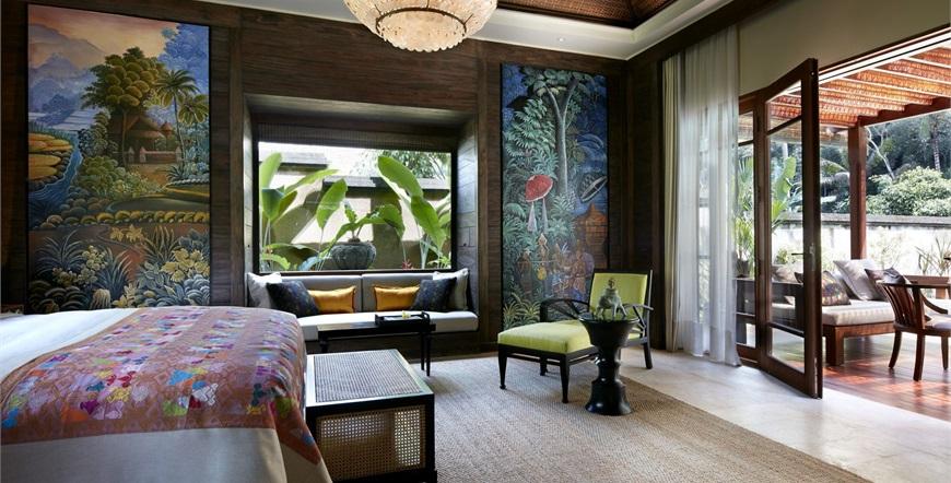 Mandapa, A Ritz-Carlton Reserve-One Bedroom Pool Villa-Spavaća soba