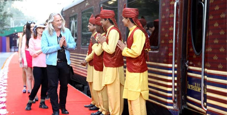 Maharaja's Express-Blago Indije-Dobrodošlica